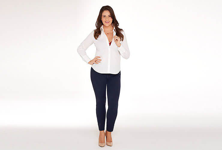 What color bra to wear under a white shirt bare necessities for White bra white shirt