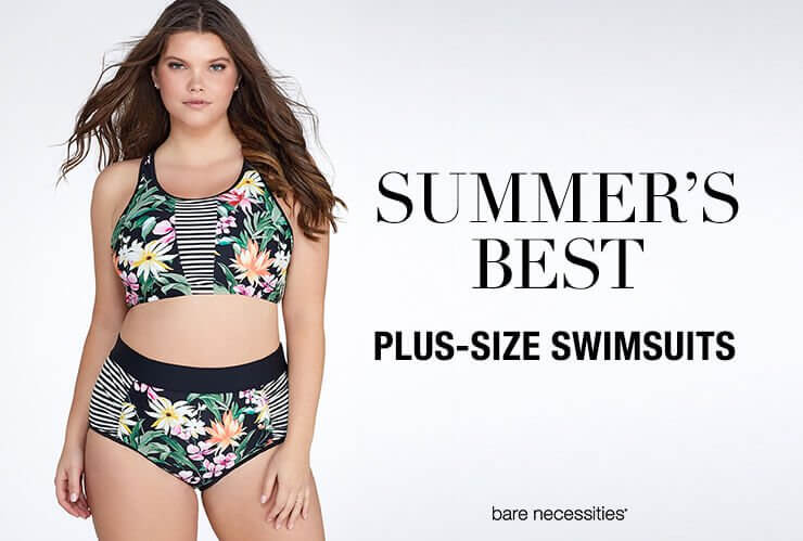 SUMMER'S BEST PLUS-SIZE SWIMSUITS HERO 4.24.17