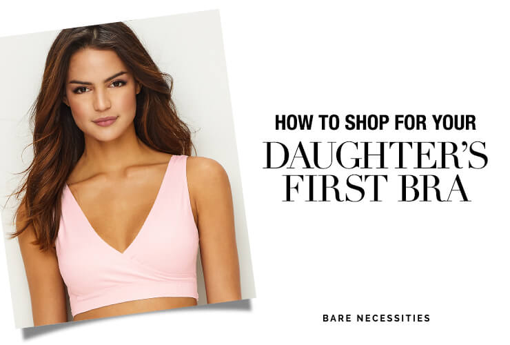 HOW TO SHOP FOR YOUR DAUGHTER'S FIRST BRA