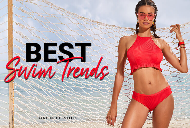 26393e53a4892 The Top Swimsuit & Swimwear Trends of Summer 2019 | Bare Necessities